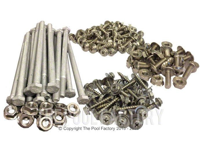 Complete Set Hardware for 12' x 17' Oval Quest/Morada Pools