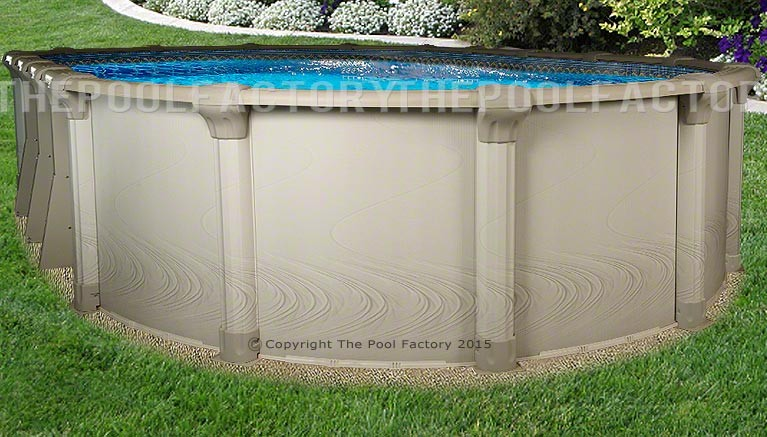 "12'x17'x54"" Quest Oval Pool"
