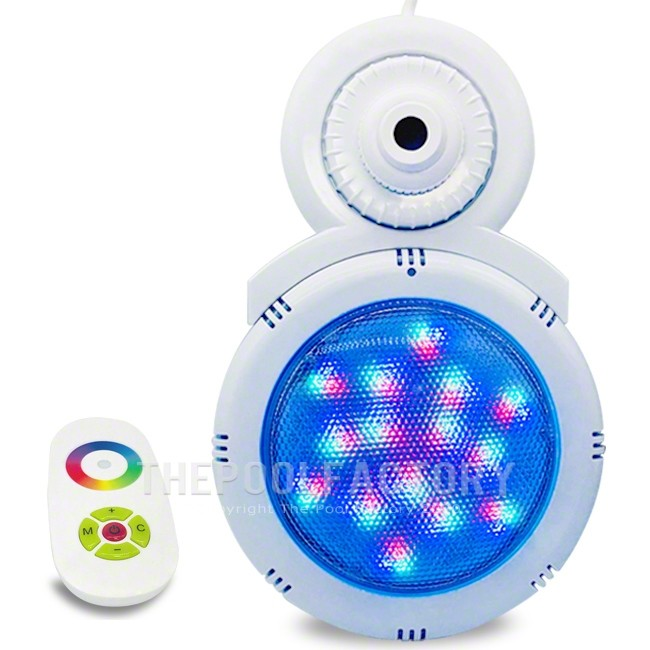 LED Multi-Color Pool return light with Remote