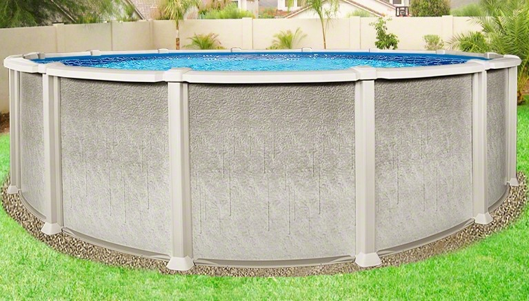 27 X54 Quot Saltwater 8000 Round Pool Above Ground Pool