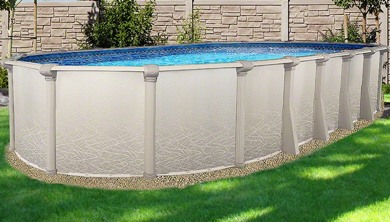 "18'x40'x52"" Saltwater 5000 Oval Pool"