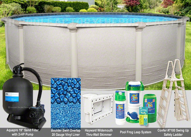 "21'x52"" Signature RTL Round Pool Package"