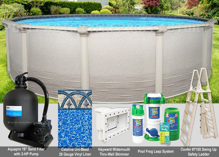 "21'x54"" Signature RTL Round Pool Package"