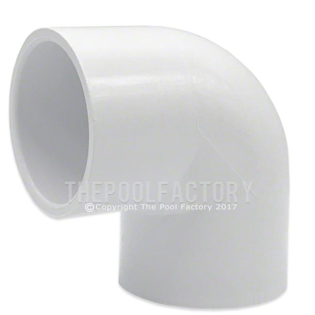 "Lasco 1.5"" SKT x 1.5"" SKT (Slip x Slip) 90 Degree Elbow Adapter Fitting 406-015"