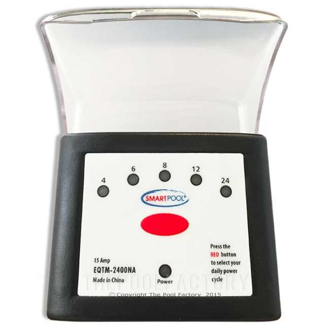 SmartPool Portable Programmable Standard Plug-In Outdoor Timer