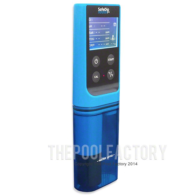 Solaxx SafeDip Digital Chemistry Tester for Pools and Spas MET20A