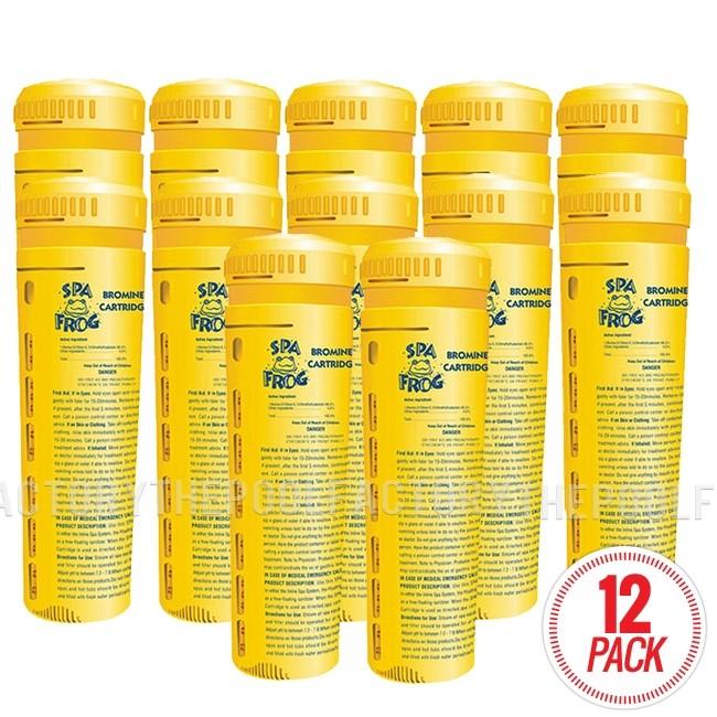 Spa Frog Bromine Cartridge 01-14-3824 - 12-Pack