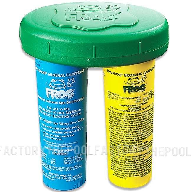 Spa Frog Floating Mineral System 01-14-3882