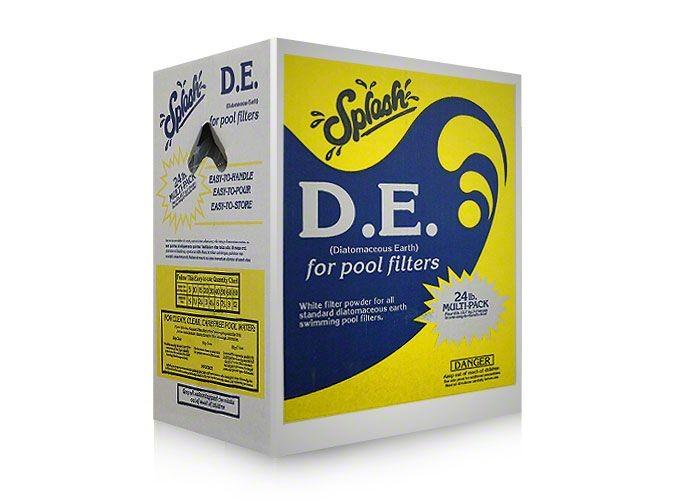 Splash DE Diatomaceous Earth 24lb Box