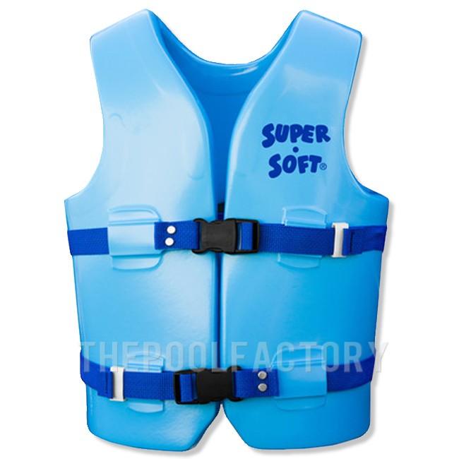 Super Soft Vest - Child Youth Medium Blue 50-90lbs.