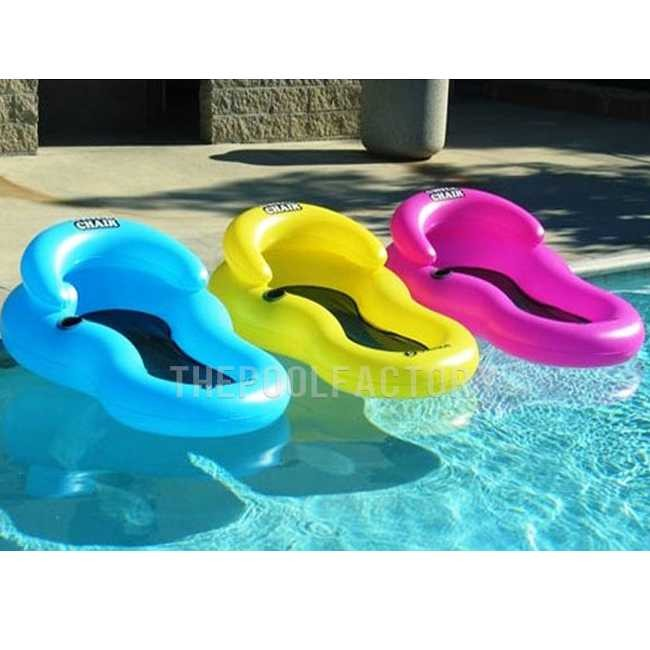 Swimline Solstice Chill Chair Floating Lounger Yellow 15160CC