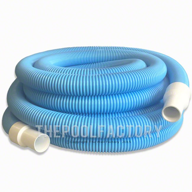 "Inground Pool Vacuum Hose 1-1/2"" x 45ft"
