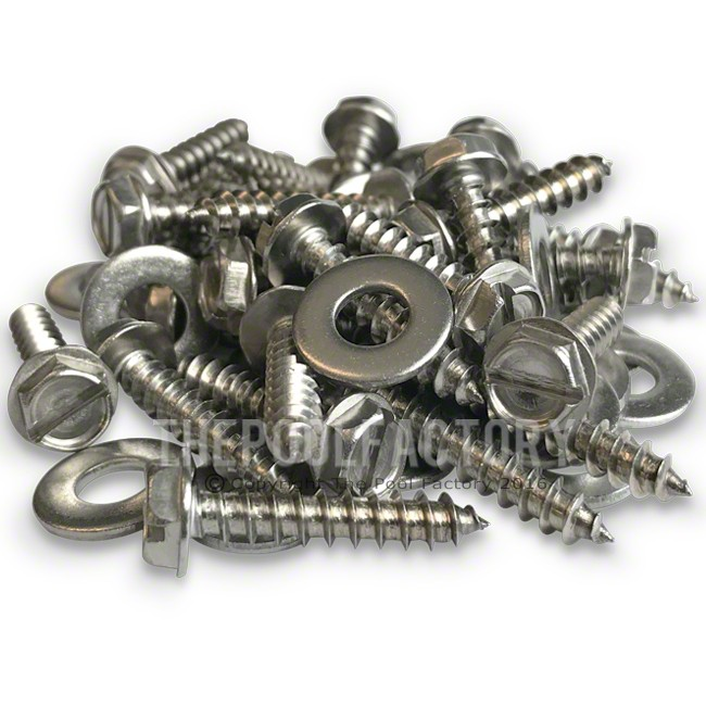 Top Ledge Screws for All Oval Heritage RTL, Signature RTL, Quest & Saltwater 5000 Pool Models