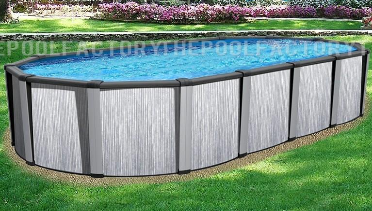 """15'x30'x54"""" Tribeca Oval Pool"""