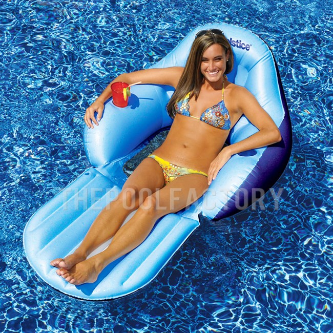 Swimline Solstice Easy Chair Convertible (With Foot Rest)