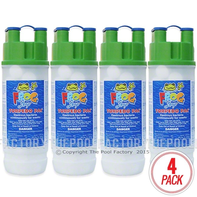 Pool Frog Leap Torpedo Pac 4 Pack The Pool Factory