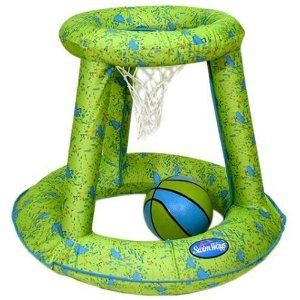 Swimways Hydro Spring Basketball Green