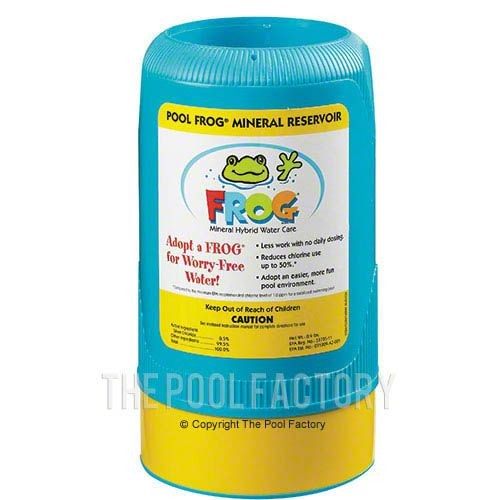 Mineral Reservoir included with Pool Frog Above Ground Cycler