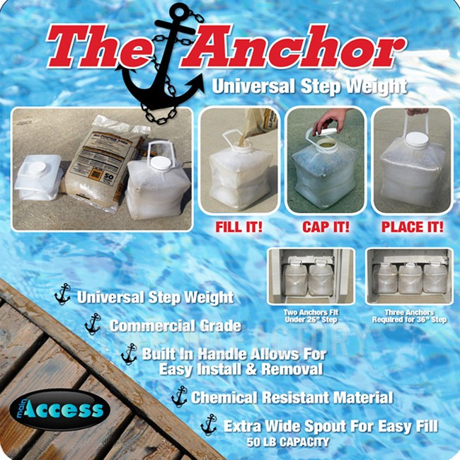 Universal Step Weight Anchor