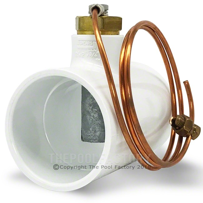 Inline Anode for Corrosion Control