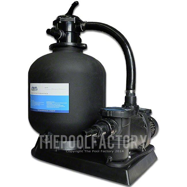 "AquaPro 19"" Sand Filter System 2-HP Pump 2 Year Warranty"
