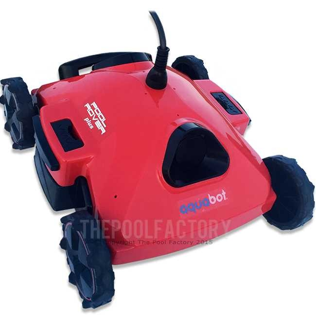 Aquabot Pool Rover PLUS Robotic Automatic Pool Cleaner Rear View