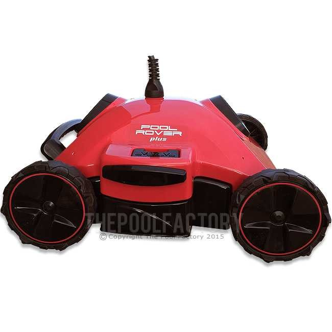 Aquabot Pool Rover PLUS Robotic Automatic Pool Cleaner Side View