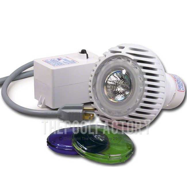 Aqualuminator Non-Return Above Ground Pool Light KIt (Includes Color Lenses)