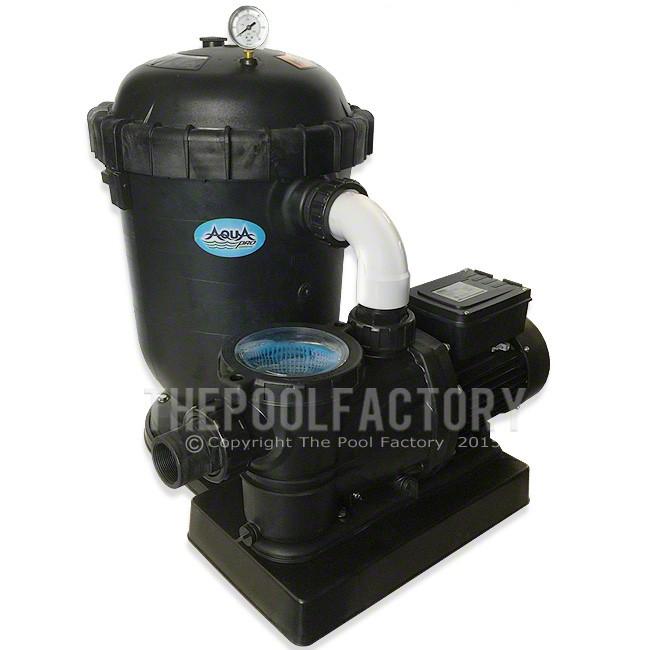 AquaPro 120 SQ. FT. Cartridge Filter System 1.5-HP 2-Speed Pump 2 Year Warranty