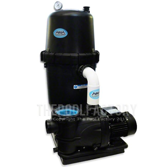 AquaPro 190 SQ. FT. Cartridge Filter System 2-HP 2-Speed Pump 2 Year Warranty