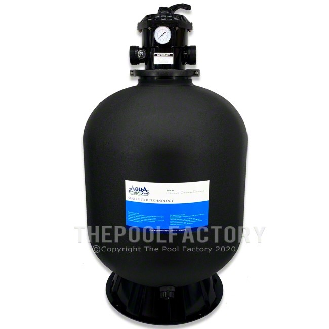 """AquaPro 24"""" Sand Filter with Skirt"""