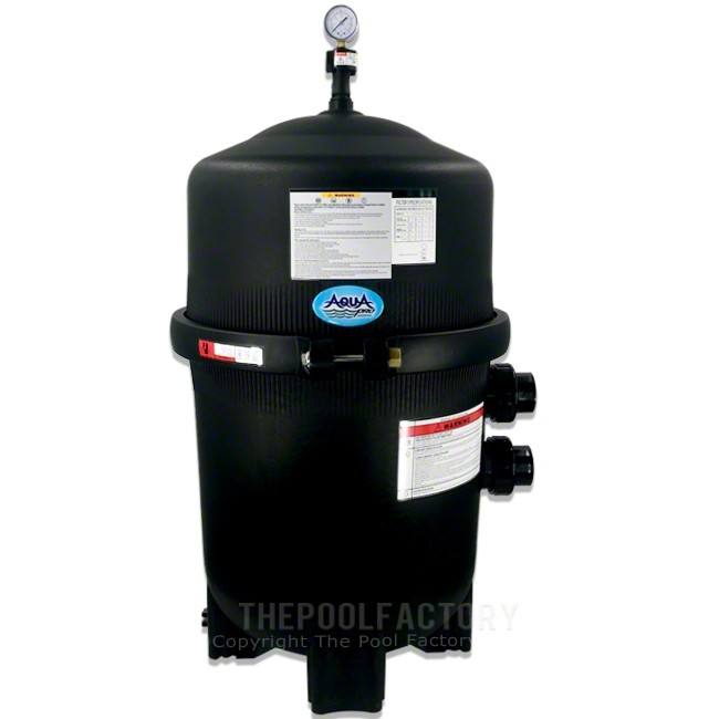 AquaPro 425 SQ. FT. Mega Quad Inground Cartridge Filter Tank