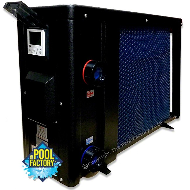 AquaPro ECO550 50K BTU Electric Heat Pump - Alternate Side View