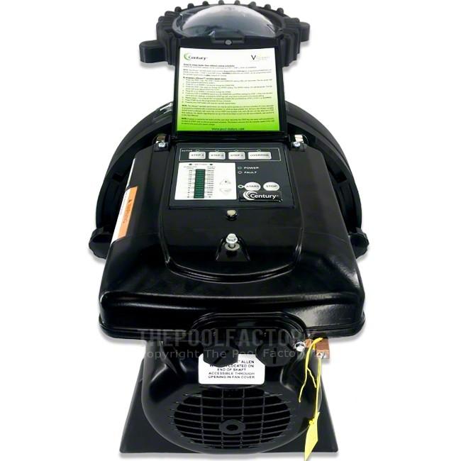 Aquapro Apex Series 1.65 HP Variable Speed Inground Pool Pump 230V  - Back View
