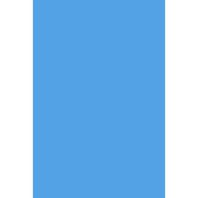 25 Gauge Blue Overlap Liner