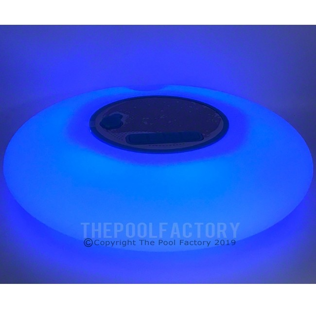 Floating Wireless Bluetooth Speaker with LED lights - Blue Stage Shown