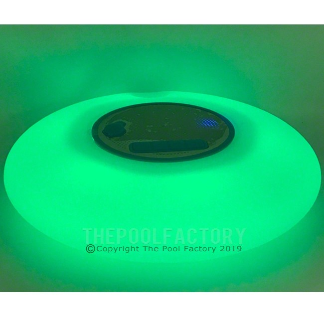 Floating Wireless Bluetooth Speaker with LED lights - Green Stage Shown