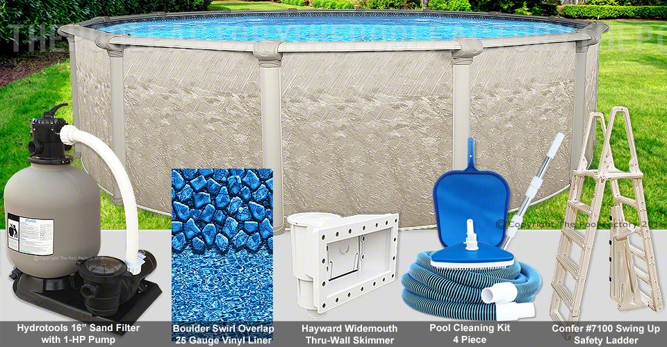 "18'x52"" Cameo Round Pool Package"