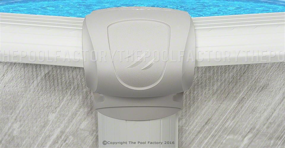 Cameo Round Pool Top Cap