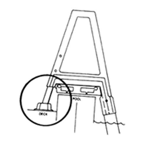 Confer Deck Ladder Conversion Kit Location