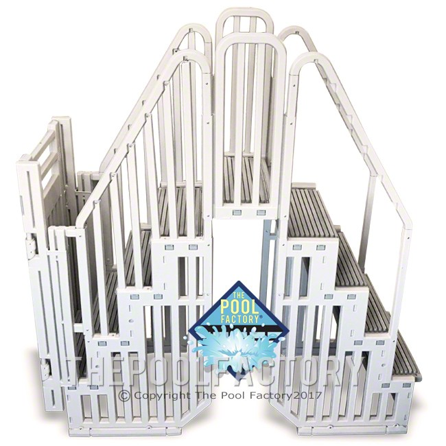 Confer SES - Complete Step Enclosure System with Gate