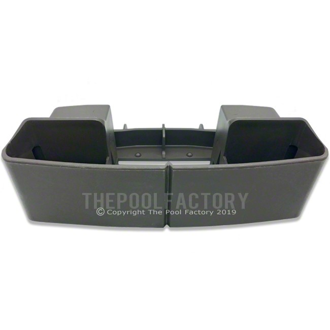 Upright Boot/Bottom Joiner Plate for Straight Side Contempra Pool Model - Front View
