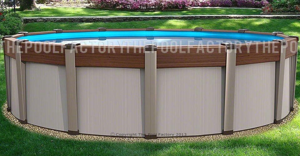 "27'x54"" Contempra Round Pool"
