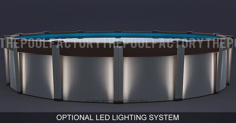 Contempra Round Pool with Optional Lights