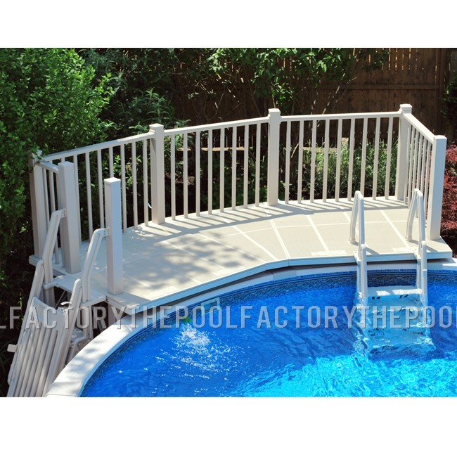 5X13.5 Resin Pool Fan Deck
