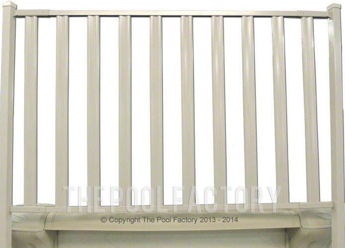 Sharkline Integrity Aluminum Fence Panel Close-Up