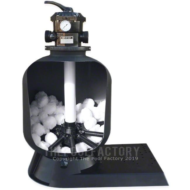 Platinum Filtra Balls for Sand Filters - Inside Filter View