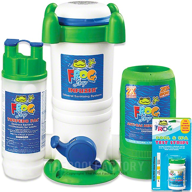 Pool Frog Leap Fresh Mineral Water Chemical Package