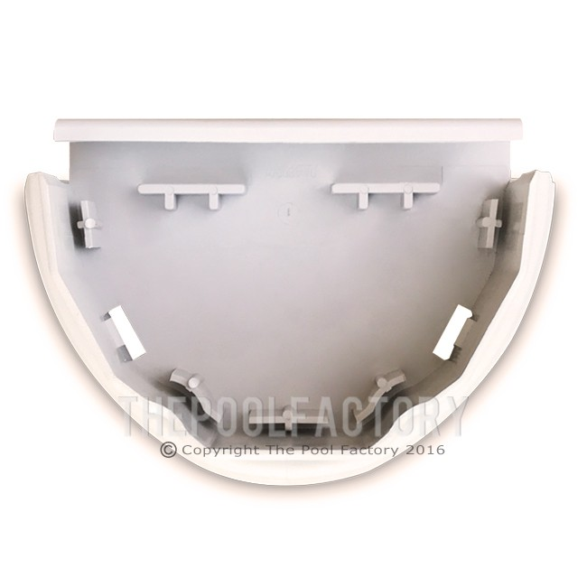 Upright Boot for Round & Oval Curved Side Hampton Pool Models - Top View