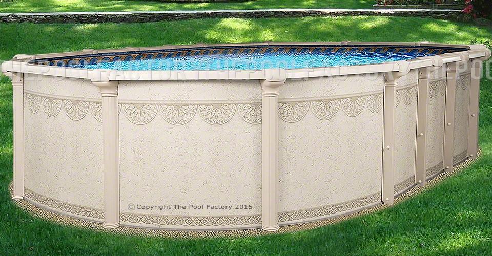 """18'x33'x52"""" Hampton Oval Pool"""